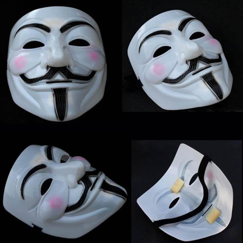 free shipping wholesale famous scary movie vendetta team scream halloween party full face masquerade pvc plastic