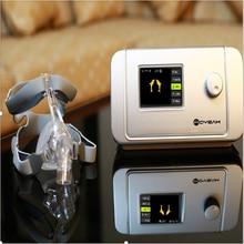 MOYEAH авто вентилятор постоянного положительного давления медицинская машина с назальная маска полное лицо вставка SD карта для сна апноэ носовые анти храп