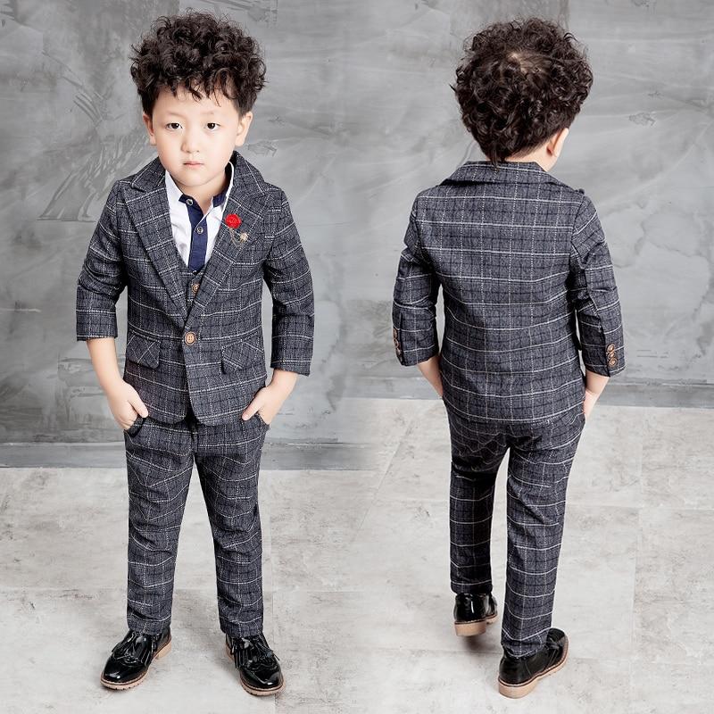 8dfd1f95a607 2016 New Children Suit Baby Boys Suits Kids Blazer Boys Formal Suit ...