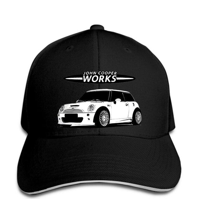 04cc75fbccd hip hop Baseball caps Funny Men hat cap Black Mini Cooper R53 S JCW  SilhouetteSoft cap