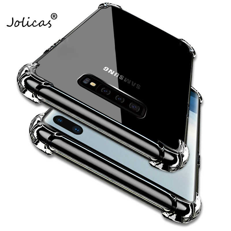 透明 Tpu ケース A10 A20 A30 A50 A40 A70 S10E S10 プラス用 M20 M10 a6 A8 J4 J6 プラス A7 A9 2018