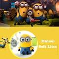 Cartoon Minions Baby Kids Children Sleep Light Up Toys juguetes jouet lumineuse brinquedos
