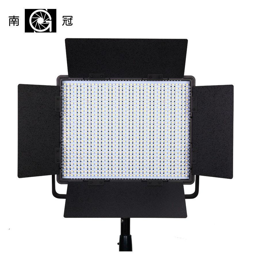 Nanguang CN-900SA 6850 LM 5600 K 900 LED panneau lumineux de Studio vidéo v-mount & Case CD15