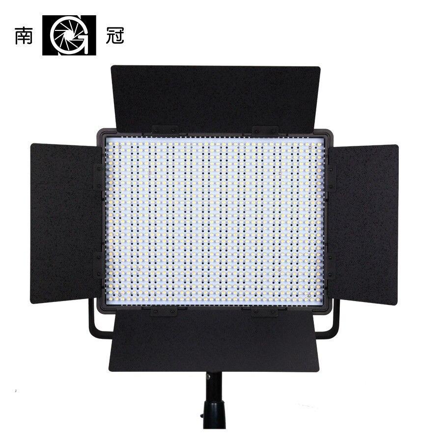 Nanguang CN-900SA 6850 LM 5600 k 900 LED Video Studio Light Panel V-mount & Cas CD15
