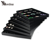 Brand New Quality Jewelry Trays Jewelry Display Holder Bracelet Ring Earring Necklace Pendant Box Case Jewelry