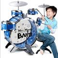 Instrumentos Musicais de plástico para Crianças de 5 Tambor 2 Rub 1 Cadeira/Set Brinquedos Aprendizagem Educação Mista Instrumentos Musicais Para crianças