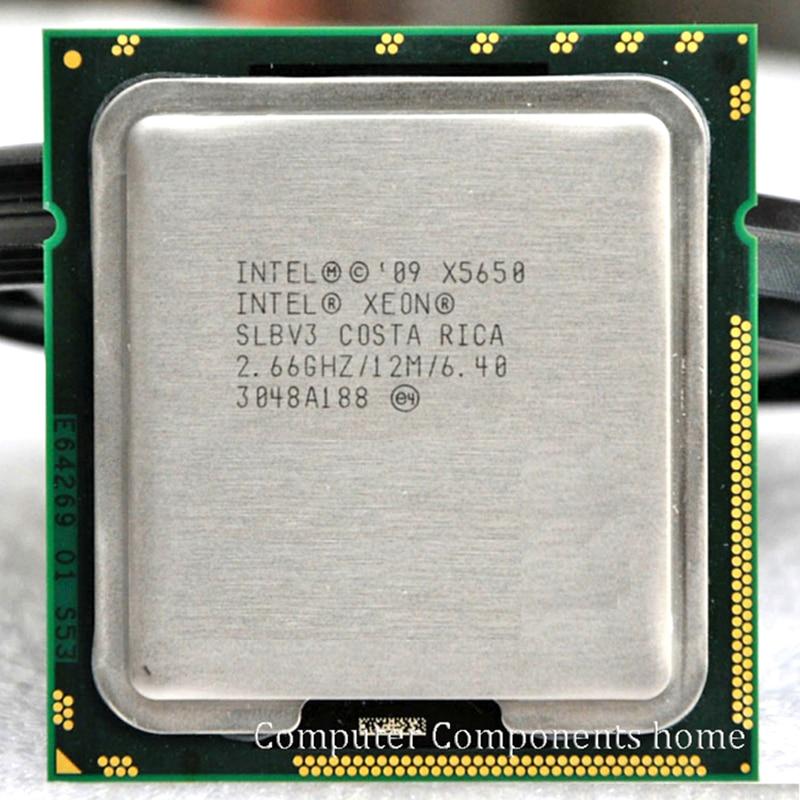 INTEL xeon X5650 INTEL X5650 CPU SLBV3 procesador 2,66 GHz/LGA 1366 server CPU P garantía 1 año
