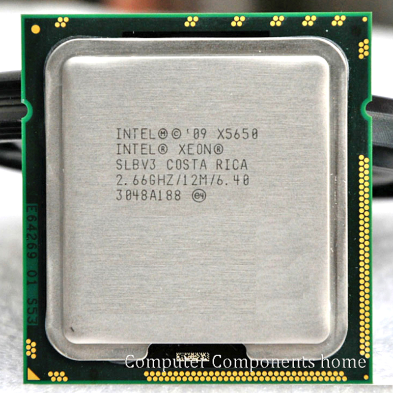 INTEL xeon X5650 INTEL X5650 CPU SLBV3 Processor 2,66 GHz / LGA 1366 server CPU P garanti 1 år