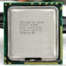 INTEL xeon  X5650 INTEL X5650 CPU SLBV3  Processor 2.66GHz/ LGA 1366  server CPU P warranty 1 year