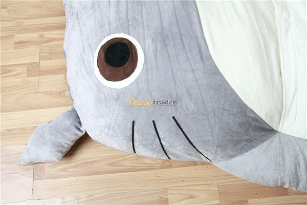 Fancytrader 200cm X 160cm Huge Giant Totoro Bed Carpet Tatami Mattess Sofa, 2 Models, FT50325  (9)