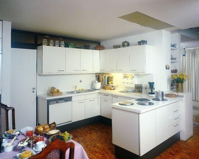 Große weiße holz insel küchenschrank, customized America stil ...