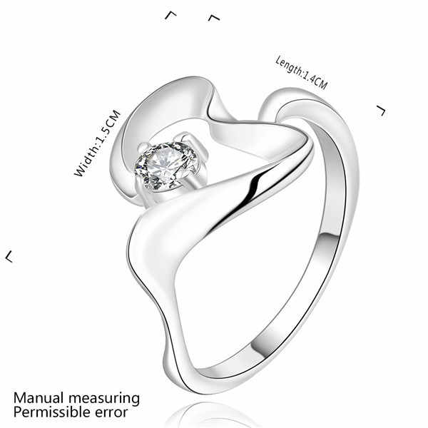2017 hot sale!!fashion sterling silver jewelry,factory price,chirstmas gift,inlaid stone belt ring r468 accessories gifts