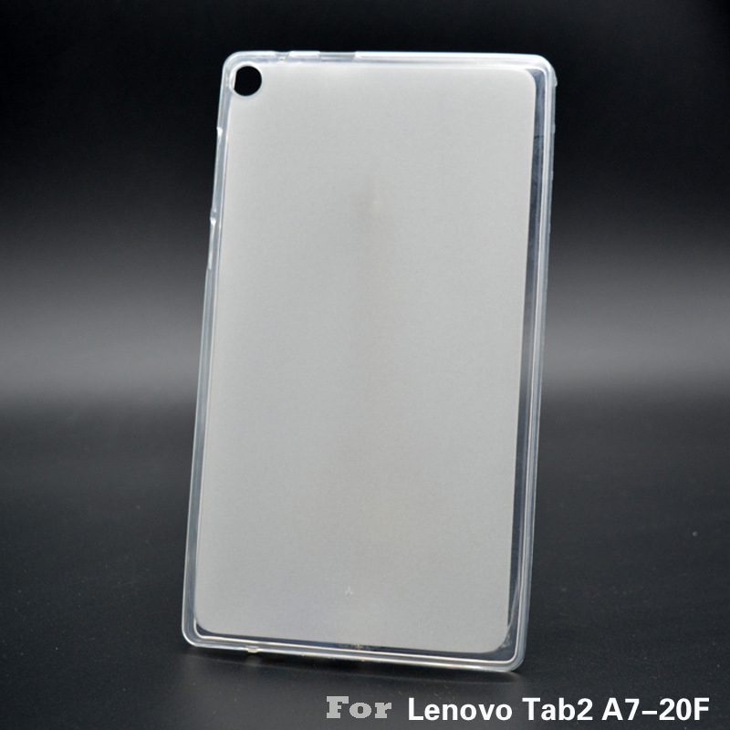 TPU Silicon Cover For Lenovo A7-20 A7-20F Soft Tablet Protective Crystal Case Transparent Matte Shell Cover 7.0 Inches YNMIWEI [hk stock] original silicon protective cover brand new soft case for zte blade s7 transparent