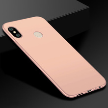 "For Xiaomi Redmi S2 Case 5.99"" Silicone Full Protection Matte Soft Case For Fundas For Xiaomi Redmi S2 Cover Black TPU RedmiS2"