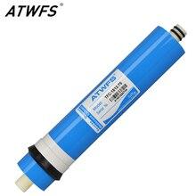 Atwfs 75gpd мембраны RO обратного осмоса очиститель воды ro мембраны картридж общие Фильтры для воды для бытовых