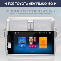 10.2 2 Din Car Android Radio GPS NAVI Android 7.1 8.0 For Toyota New Prado 2018 MP3 4G 32G Octa Core Mutimedia Autoradio Unit