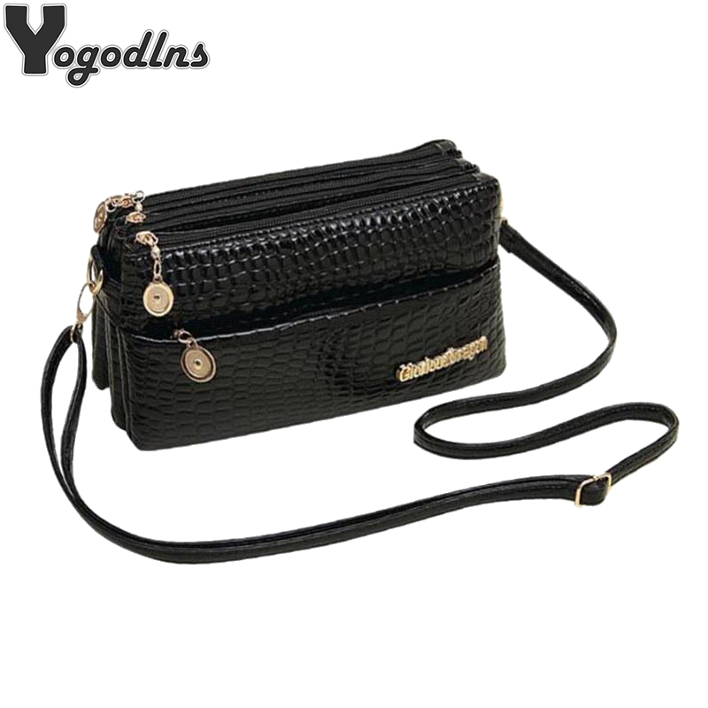 Wome PU Leather Shoulder Bag Designer Crossbody Bag Purse Vintage Female Messenger Bags With Multi Pocket Handbags Clutch