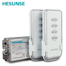 Free shipping HS-QA023 1304W 2N1 10A Three Ways Wireless Remote Control Switch 2 Remote Controls suitable for 110V and 220V