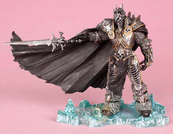 Heroes of the Storm Cosplay Lich King Arthas Menethil  21cm/8.3'' PVC Boxed Action Figures Garage Kit Model Toys the reign of king john