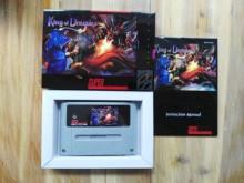 16 бит игры ** Король драконов (PAL версия! Коробка + руководство + картридж!)