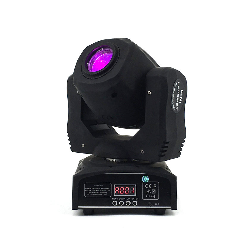 LED Spot 60W Moving Head Light Gobo/Pattern Rotation Manual Focus With DMX Controller For Projector Dj Stage Lighting new 30w spot gobo moving head light dmx controller led stage lighting disco dj wedding christmas decorations stage light par led