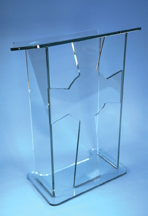 Free Shipping High Quality Modern Design Cheap Clear Acrylic Lectern For Church