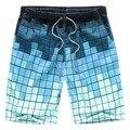 Calções de praia Homens Marca Boardshorts Board Homens Curto Quick Dry Bermudas Plus Size Quente
