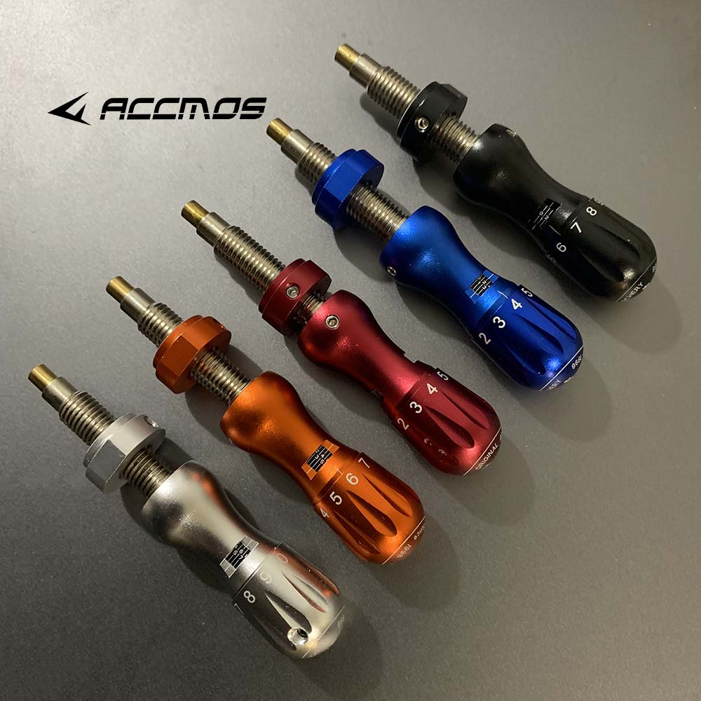 Decut New Style CNC AL6061 T Plunger Janus Micro Click Spring Tension Plunger For Recurve Bow