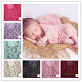 Newborn Photography Props Wrap,Lace Wrap.10 Color  Choose blue  pink  purple white  red ...