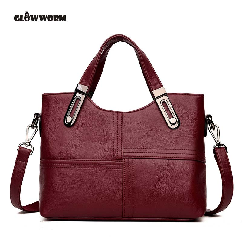 Genuine Leather Handbag Bolsa Feminina Luxury Handbags Women Bags Designer Sac a Main Bolsos Shoulder Bag 2018 Fashion Big Tote lafestin luxury shoulder women handbag genuine leather bag 2017 fashion designer totes bags brands women bag bolsa female