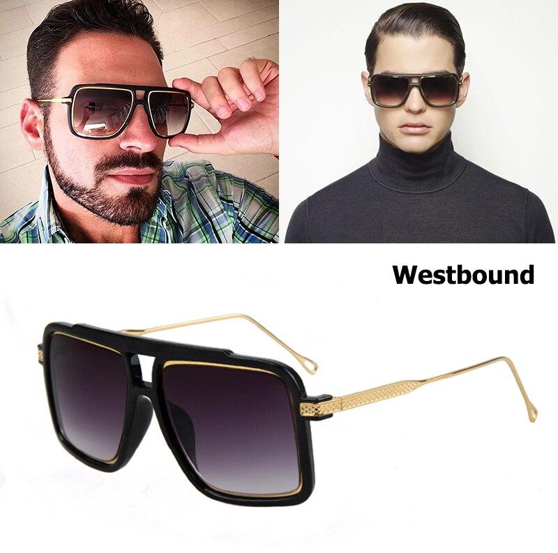 71121d794c52e Jackjad 2017 new oeste das mulheres dos homens de moda moldura quadrada  óculos de sol uv400 óculos de design da marca óculos de sol oculos de sol  masculino