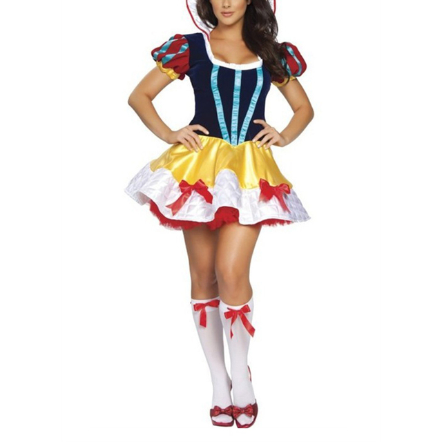 Snow white sexy halloween costume