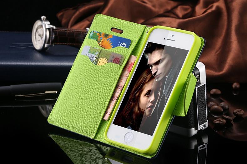 Kisscase dla iphone 4s przypadki nowy hit kolor skóry ultra odwróć case dla iphone 4 4s 4g wizytownik stań pokrywy torby telefon komórkowy 1