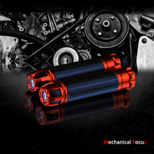 Universal 7/8 22MM CNC Motorcycle Carbon Fiber hand grip racing handlebar for KTM Honda kawasaki Yamaha Suzuki Ducati BMW