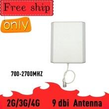 Antena de Panel exterior TFX BOOSTER, 700 2700mhz, 2G, 3G, 4G, GSM, PCS1900, LTE, Conector de señal de teléfono móvil, tipo N, 9dBi