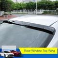 QHCP Высокое качество ABS автомобиля заднего окна крыла Топ спойлер украшение специально для Toyota Camry 2018 авто аксессуары Бесплатная доставка