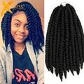 Hot Havana Mambo Twist Crochet Braids Hair 14'' 80g/pack Synthetic Crochet Braid Hair Senegalese Twists Braiding Hair Extension
