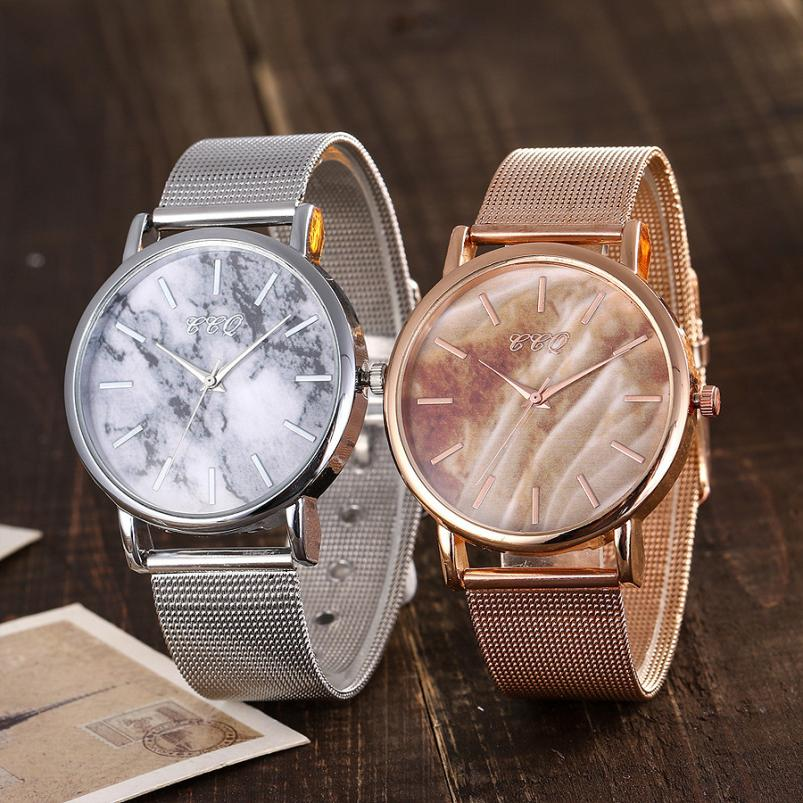 Women Watch  Ladies Dress  Fashion  Quartz   Watches Rose Gold Stainless Steel Band   Wristwatch Relogio Feminino    18MAY14