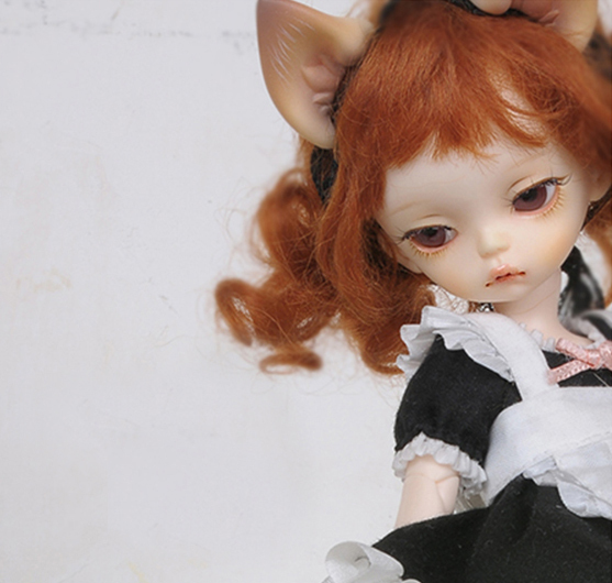 1/bjd doll - BB baby Lucy cat ears 1
