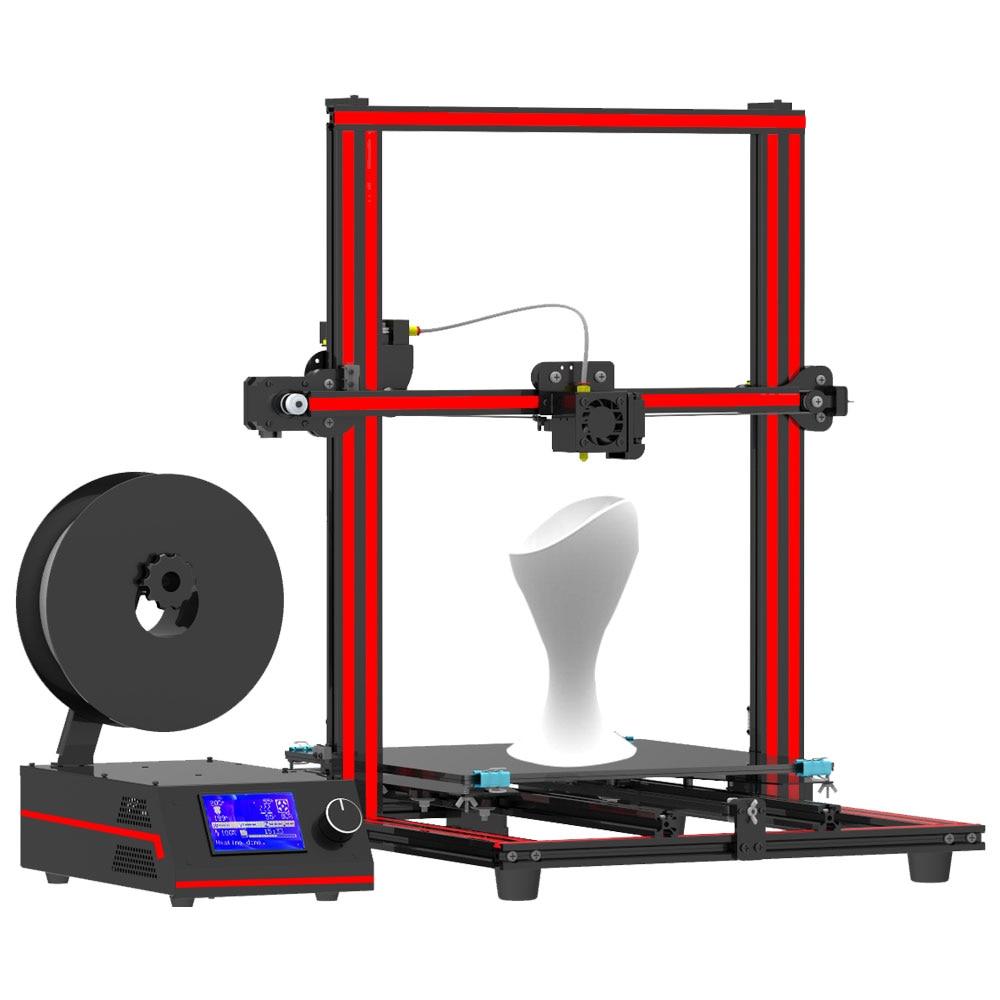 Fast assembly Tronxy X3S 3D Printer DIY kits aluminium Metal frame big 12864 LCD 8G SD Card printing tronxy x3s 330 x 330 x 420mm fast installation 3d printer