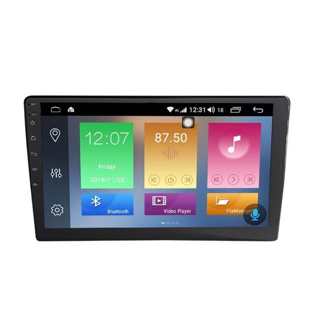 Mais novo Android 9.0 Núcleo PX6 6 Car GPS Navigation Radio Stereo Player Para Honda Toyota Peugeot Hyundai Kia Roewe Suzuki mitsubish