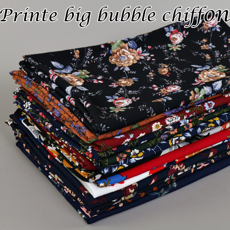 Hot selling Women Printe Big bubble chiffon design floral shawls hijab muslim nice 15 design wrap scarves/scarf 180*72cm