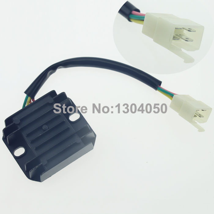 4 wire 4 pins voltage regulator rectifier gy6 moped. Black Bedroom Furniture Sets. Home Design Ideas