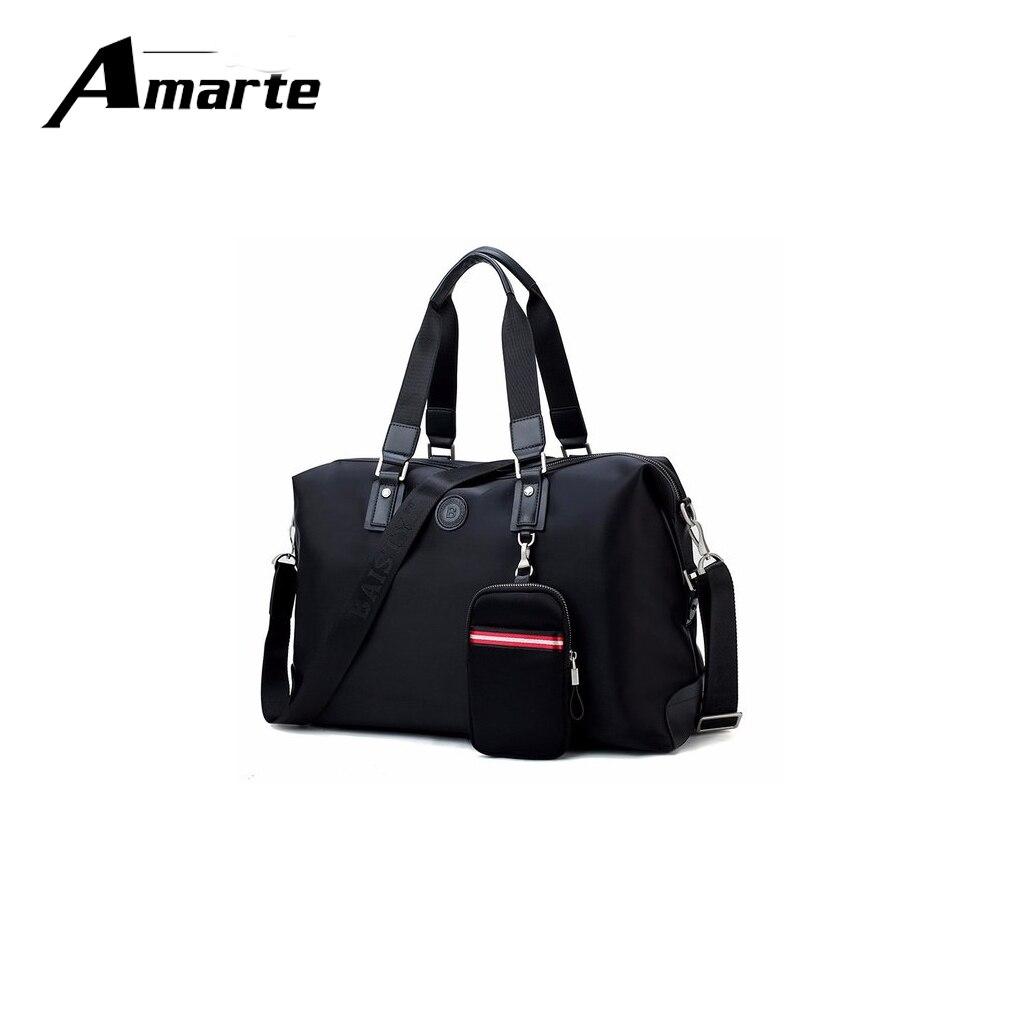 Marque nylon ordinateurs portables d'entreprise sac à main pour hommes sac à bandoulière porte-documents grande capacité fourre-tout noir sacs de voyage
