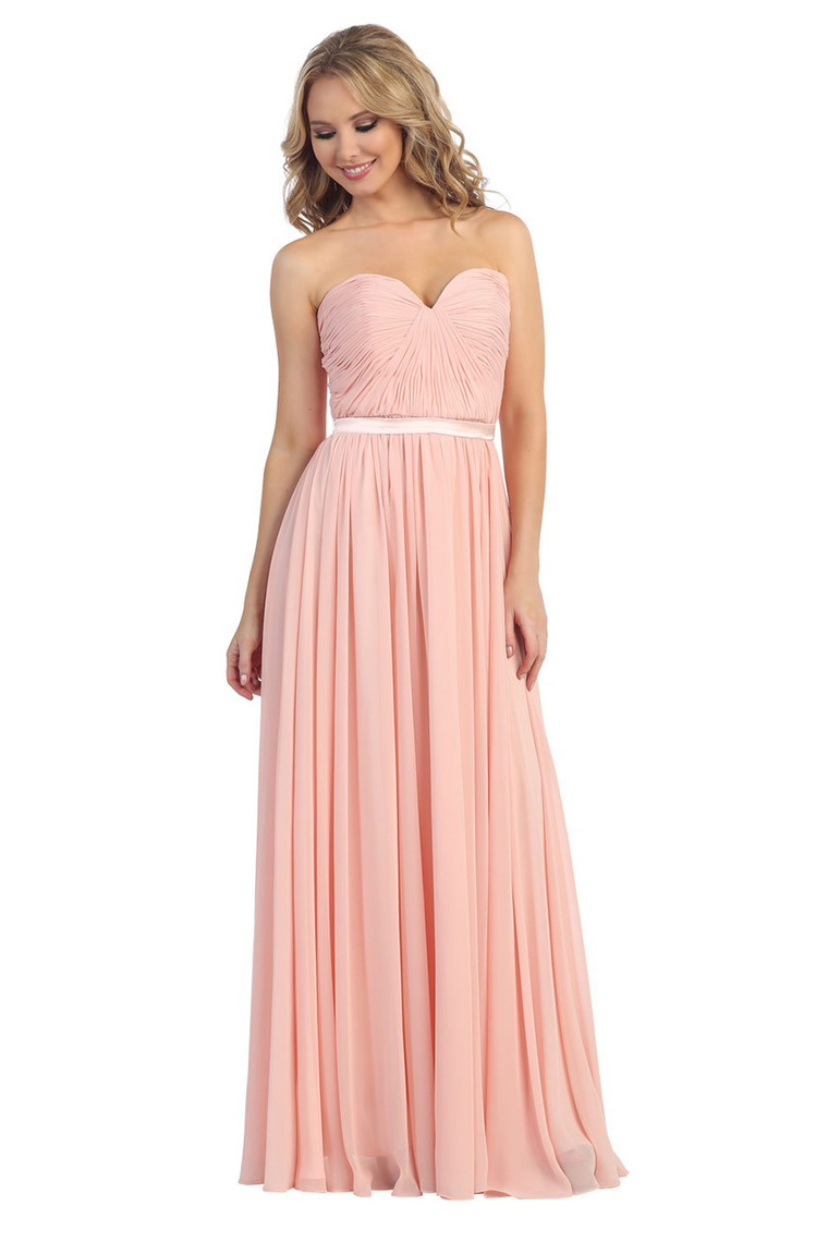 pretty nice 721ae 53749 Abiti Damigella Rosa Cipria » Abito damigella h m rosa ...