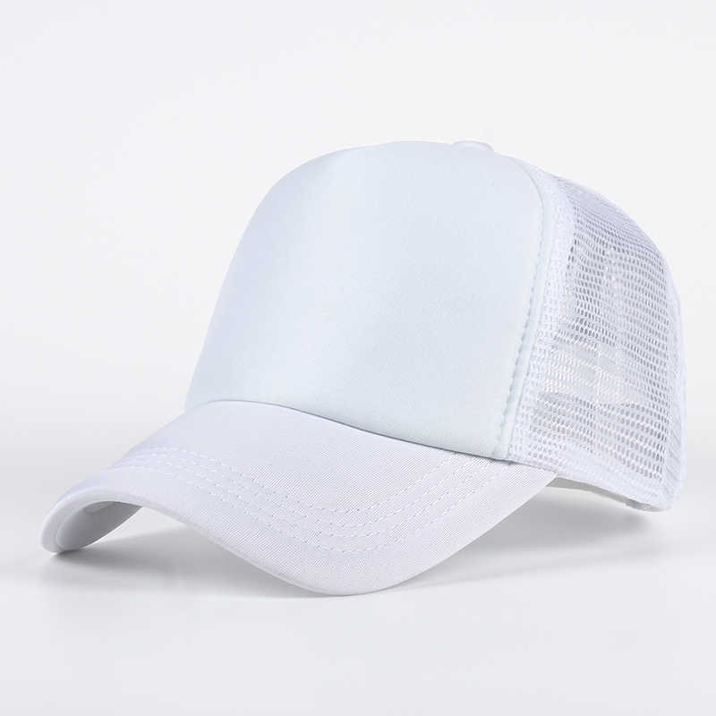 9a6feb6d86b ... VORON 6 color Cheap Mens Plain Trucker Hats for Spring Summer Womens  Blank Mesh Snapback Caps ...