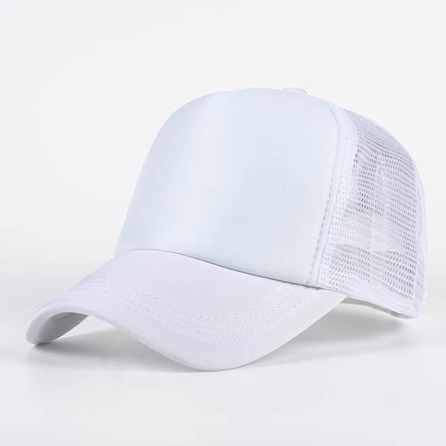 placeholder VORON 6 cor Mens Baratos Planície Bonés para a Primavera Verão  mulheres Em Branco Pular de c917efa38fd