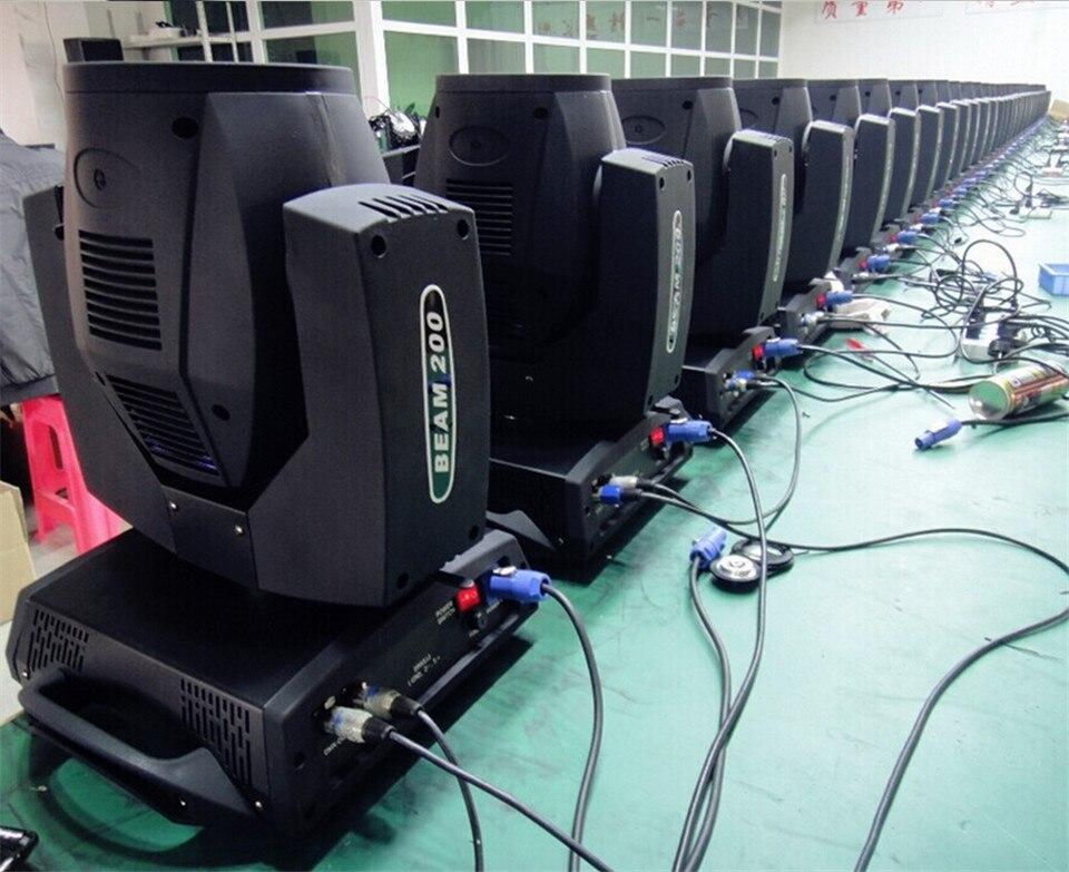 Scoppio Hot 200 W 5R Fascio testa Luci Touch Screen Sharpy Fascio 200 W Sharpies 5R Luce Capa commovente dmx