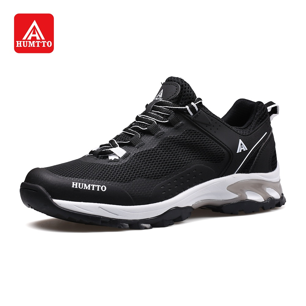 HUMTTO Men's Hiking Shoes Women Spring Outdoor Sneakers Breathable Cushioning Non-slip Trekking Jogging Climbing Shoes