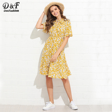 7d2fee8126bca Buy womens calico dresses and get free shipping on AliExpress.com